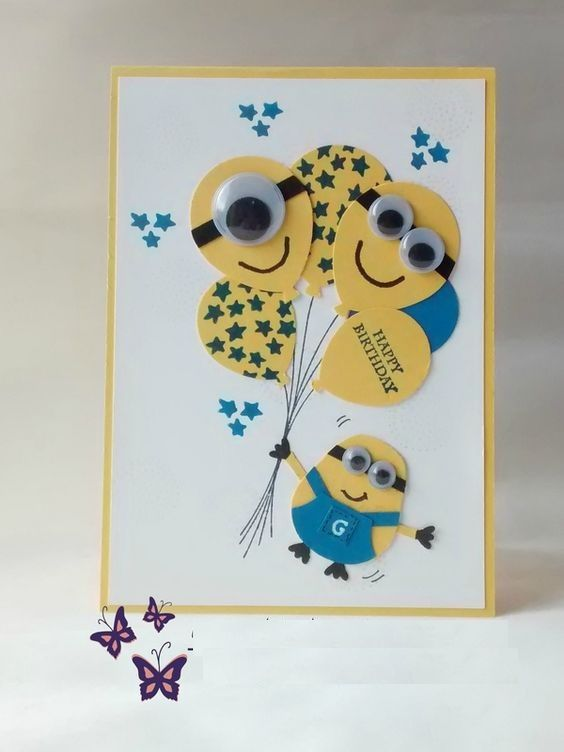 birthday boy card ideas ; 6d3b5343be6ee6d928124e909a8b0a12--minion-card-minion-birthday-card