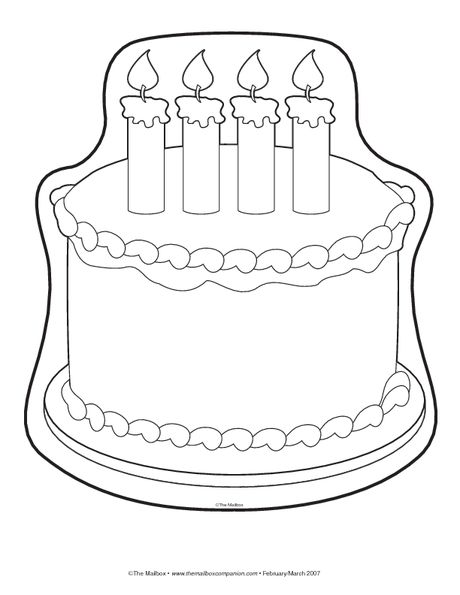 birthday cake cut out template ; ed36620fbd764e1b4757aac394fc1f2e