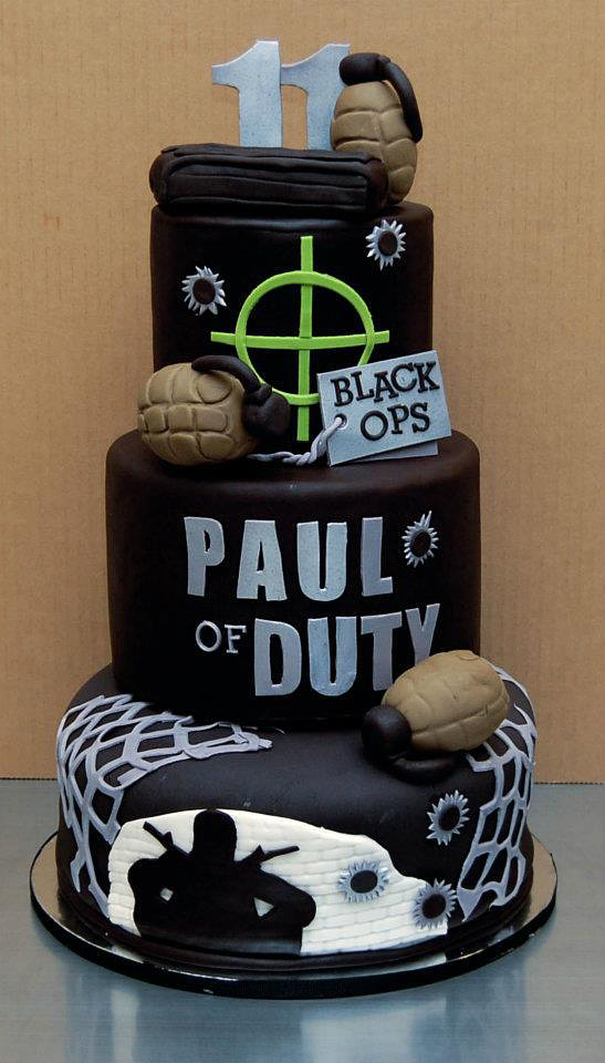birthday cake design games ; funny-coolest-eye-catching-video-games-animation-cakes-design-4