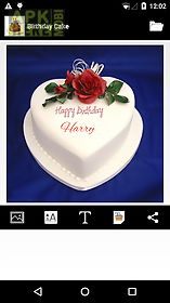 birthday cake with photo and name app ; birthday-cake-name-writer-app-for-android-3