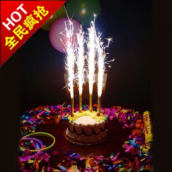 birthday candles ; firework-birthday-cake-sparklers-candles-glitterstarz-1708-30-F412650_1
