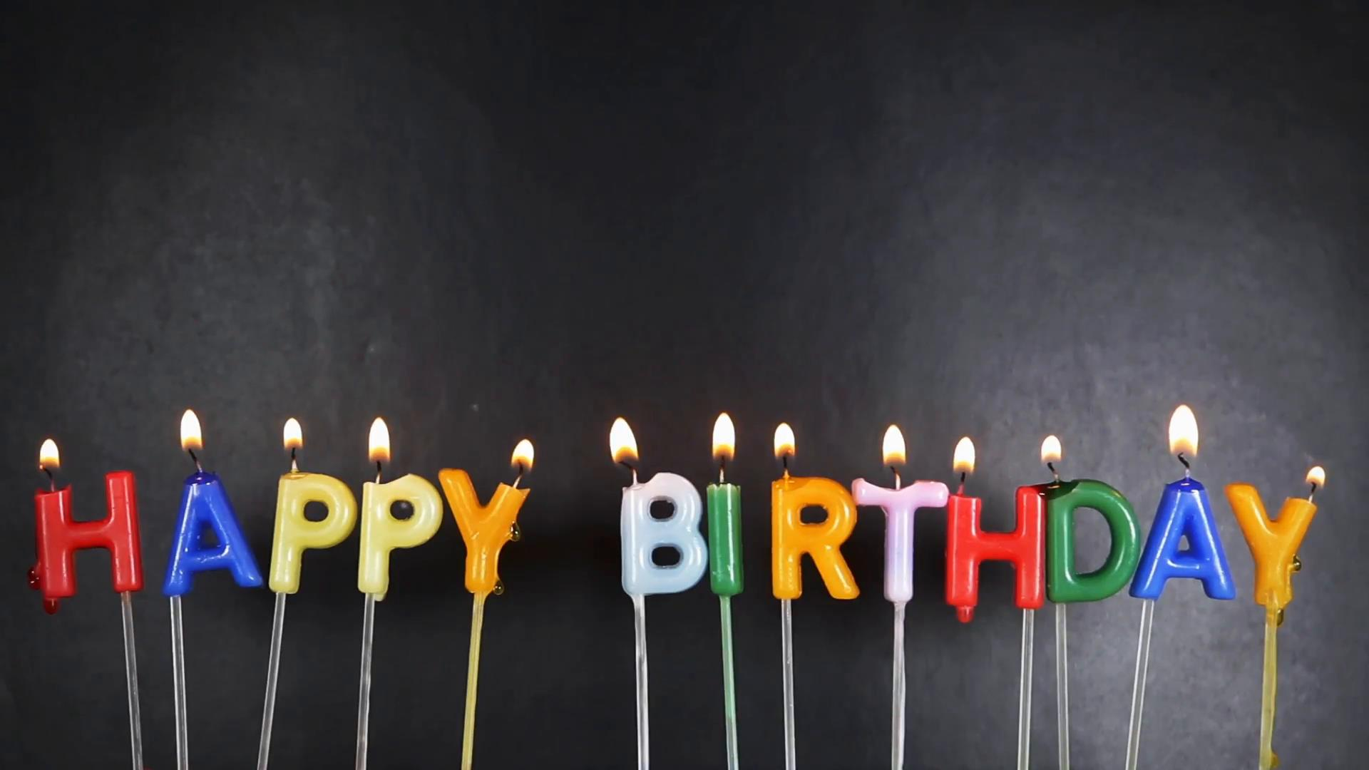 birthday candles ; happy-birthday-candles-on-black-background_4kfzqdjge__F0000