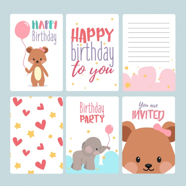 birthday card application free ; Birthday-Invitation-Card-Template