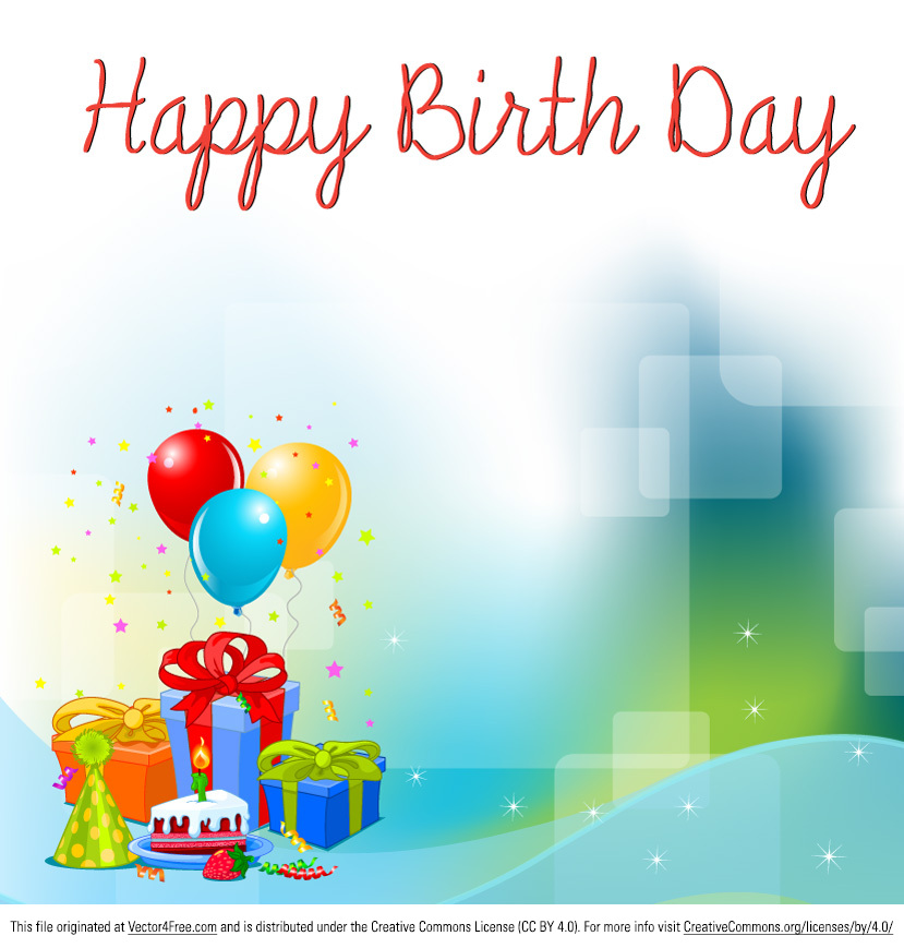 birthday card background design hd ; birthday-background