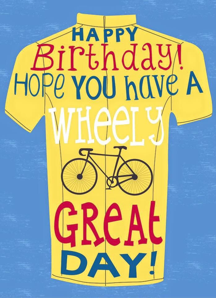 birthday card bicycle rider ; 3267b1c90c9a0b65d9fad3e8a0e93638--birthday-messages-birthday-wishes