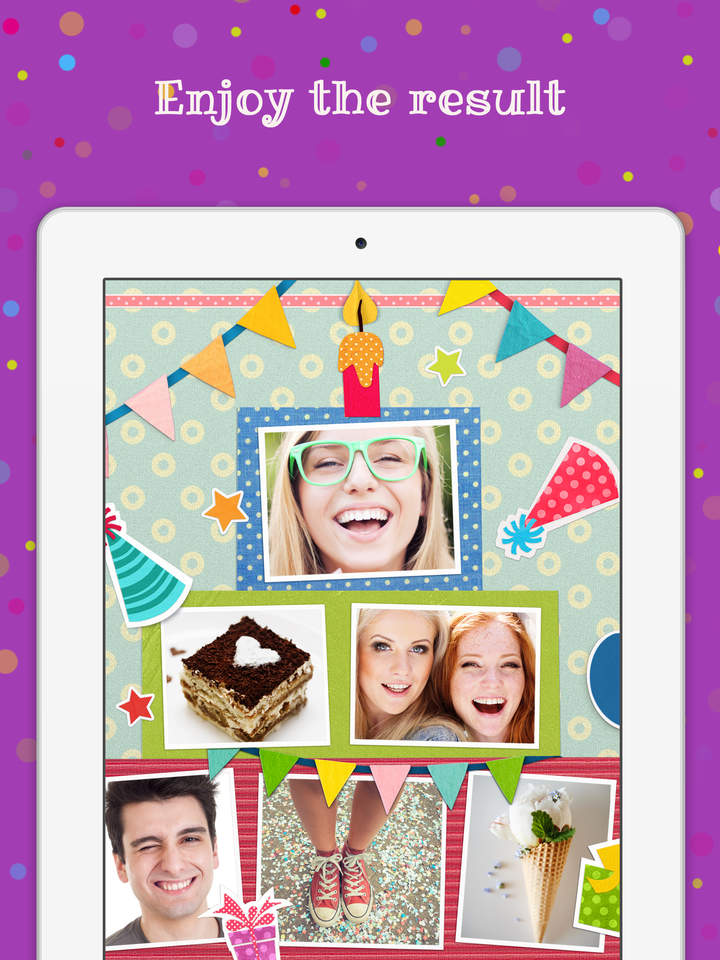 birthday card collage free ; us-ipad-5-birthday-cards-free-happy-birthday-photo-frame-gift-cards-and-invitation-maker