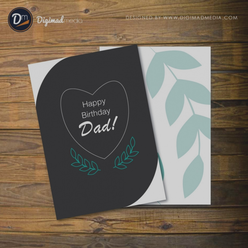 Birthday Card Designs For Dad Images Design