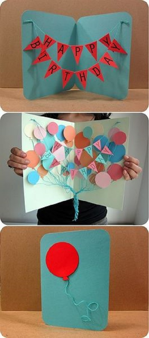 birthday card designs to make at home ; DIY-Homemade-birthday-card-ideas-and-images-with-illustration-5