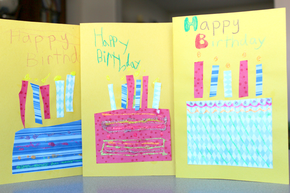 birthday card designs to make at home ; homemade+birthday+cards