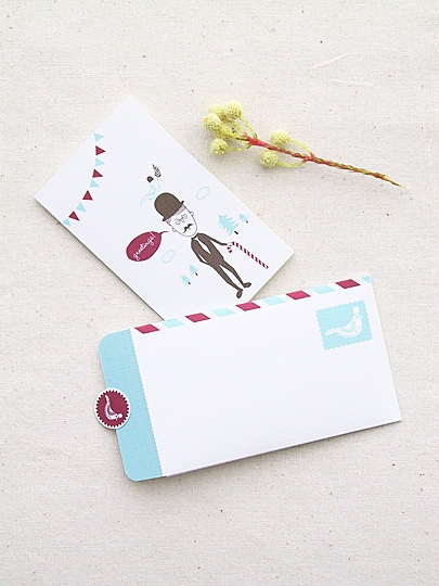 birthday card envelope design ; how-to-make-a-birthday-card-envelope-unique-mini-greeting-card-and-letter-writing-set-freebies-eat-drink-chic-of-how-to-make-a-birthday-card-envelope