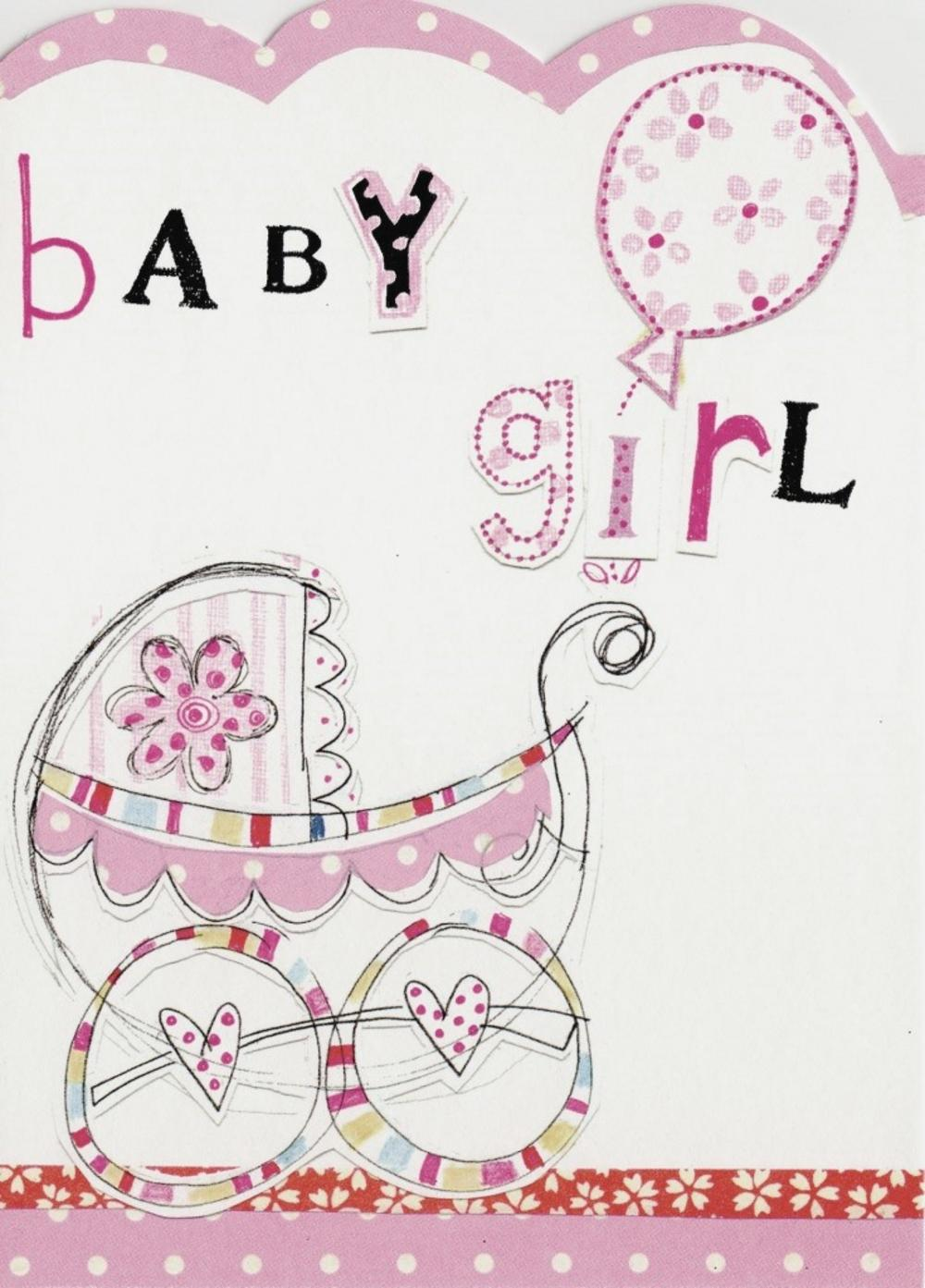 birthday card for a baby girl ; lrgscaleCL01-Baby-Girl-Card
