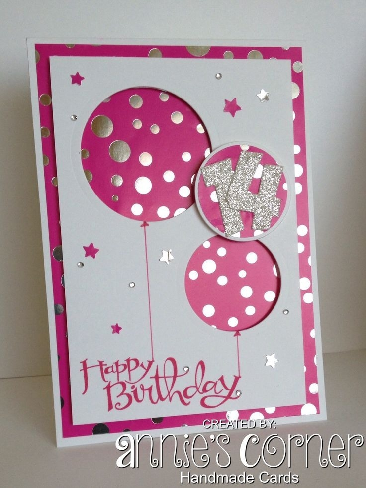 birthday card for a teenage girl ; ideas-to-make-greeting-cards-for-birthday-best-25-birthday-cards-intended-for-handmade-birthday-card-designs-for-teenage-girls