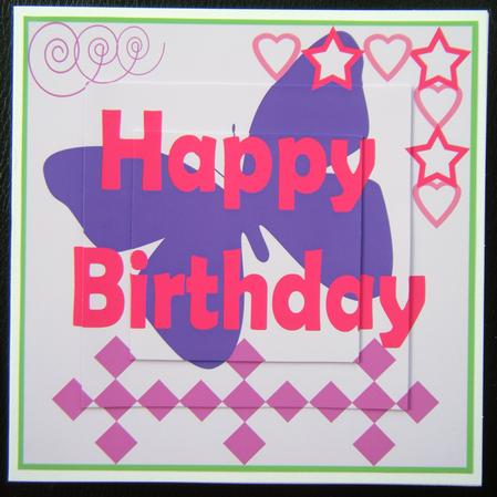 birthday card for a teenage girl ; photo31809