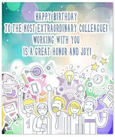 birthday card for colleague ; 233ce417f5f5b92217c4a21077537955