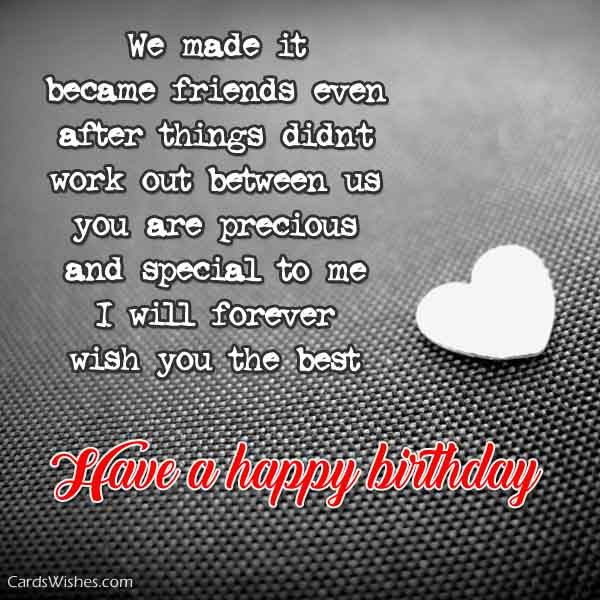 birthday card for ex girlfriend ; have-a-happy-birthday-special-ex