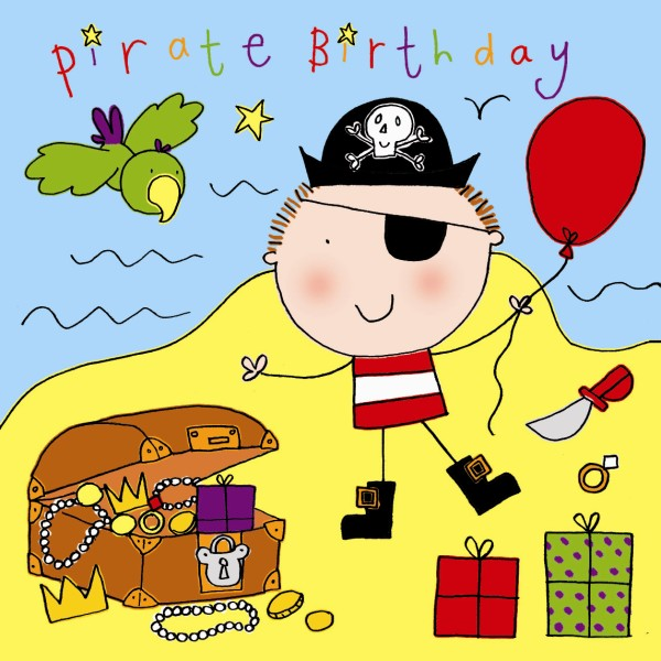 birthday card for kids boy ; boys-pirate-birthday-card-216-p
