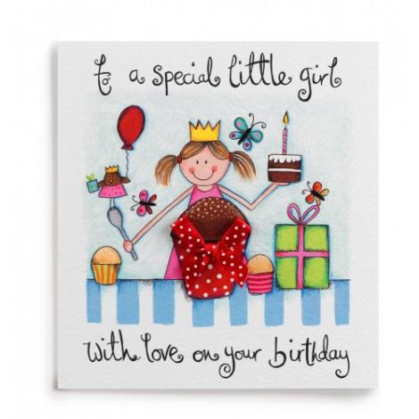 birthday card for little girl ; birthday-cards-for-little-girls-special-little-girl-handmade-birthday-card-260-a-great-range-templates