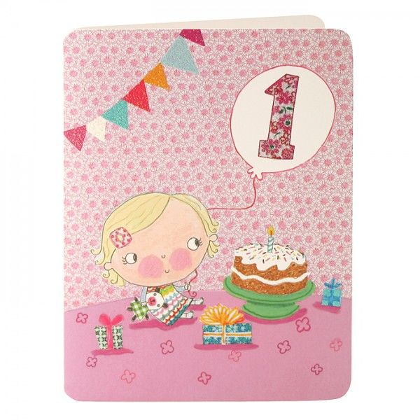 birthday card for little girl ; buy-baby-girls-first-birthday-card-online-birthday-cards-for-baby-girls-age-one-1st-first-birthday-cards-for-little-girl-pink-balloon-presents-cake_grande
