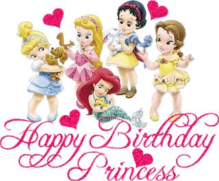 birthday card for little girl ; cdf92ec9f04096f8adff43a1533a6bf6--disney-princess-babies-disney-princess-birthday