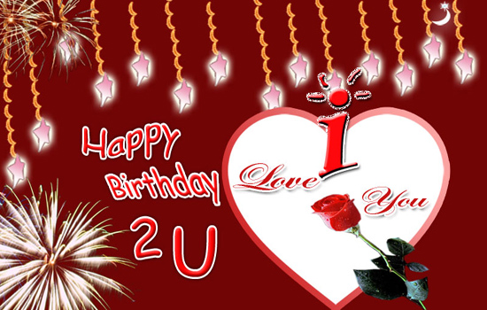birthday card for lover free download ; 306072