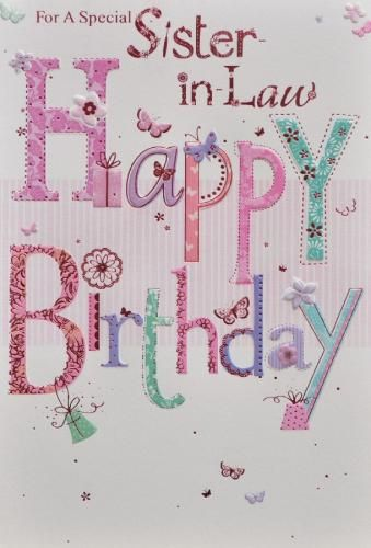 birthday card for my sister in law ; 762821a64ea0c3308710c50319b7a64d--happy-birthday-sister-my-birthday