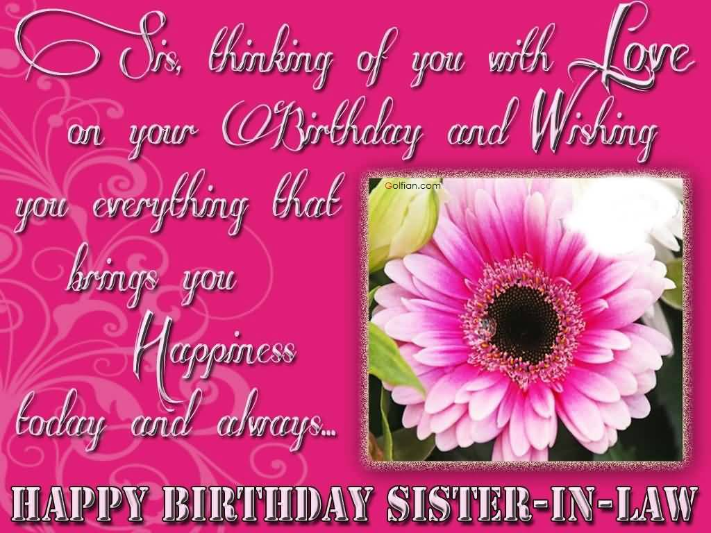 birthday card for my sister in law ; Awesome-Flower-Birthday-Wishes-For-Sweet-Sister-In-Law-Greetings