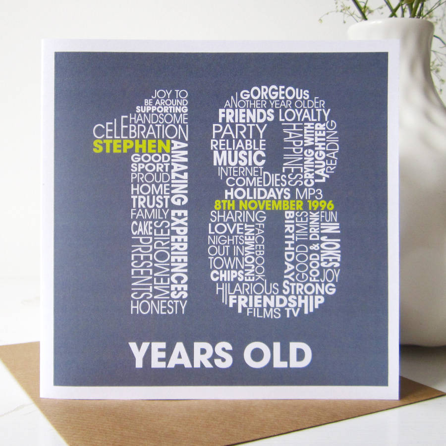 birthday card ideas for 18 year olds ; original-18th-Birthday-Greeting-Cards