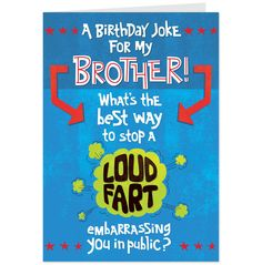 birthday card ideas for brother funny ; 77b637e01ae9489f64f6999cab29487e--birthday-cards-for-brother-funny-birthday-cards
