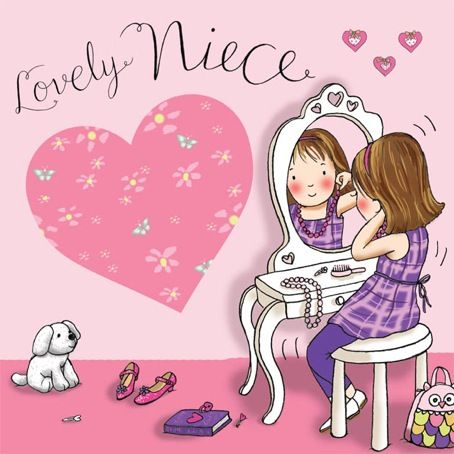 birthday card images for niece ; niece-birthday-card-dressing-up-lovely-niece-tw644-4200-p