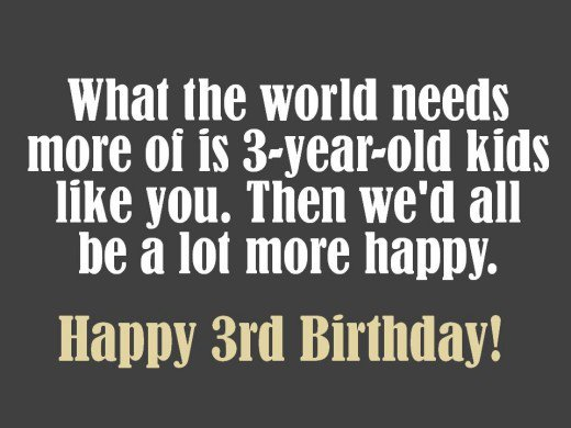 birthday card message for 3 year old boy ; 8779997_f520