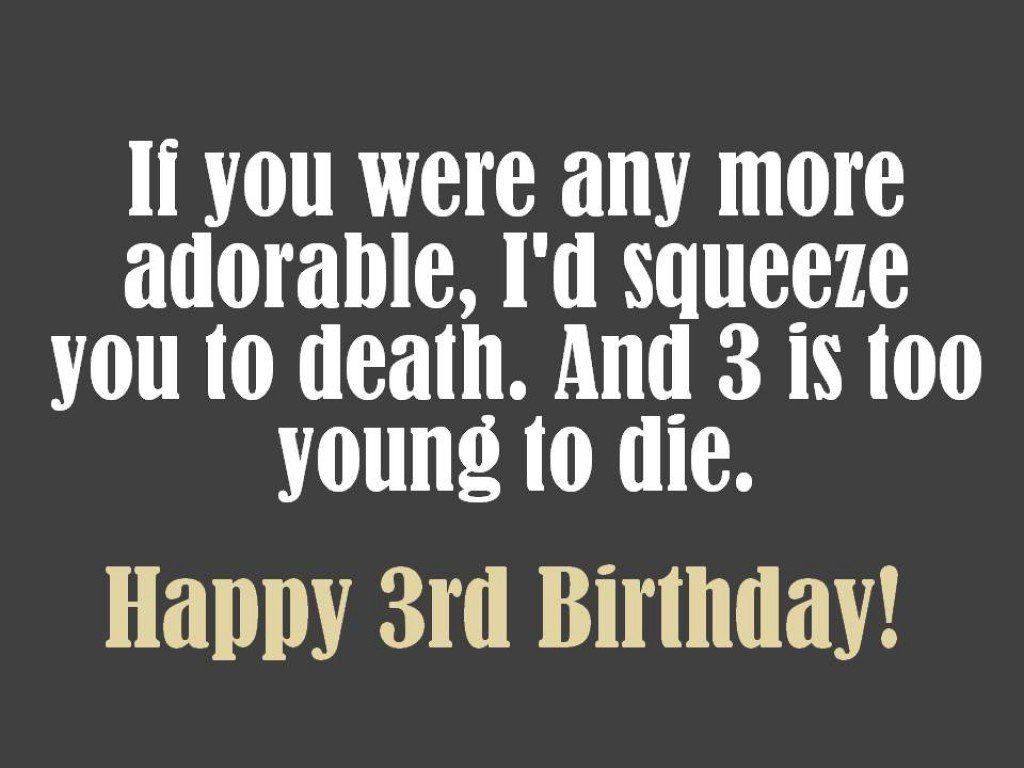 birthday card message for 3 year old boy ; 8780000_f1024