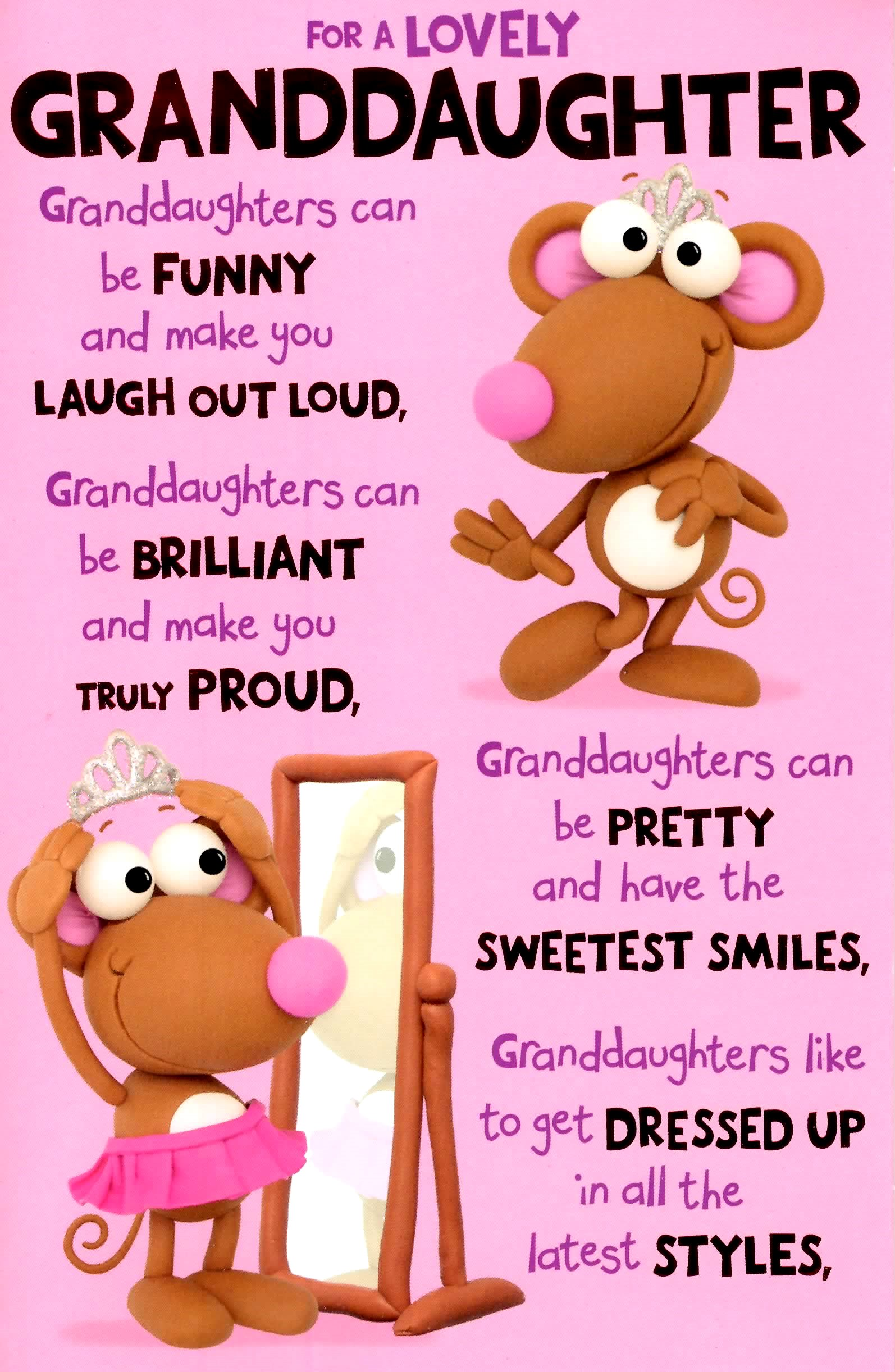 birthday card messages for granddaughter ; 344200a-granddaughter-birthday