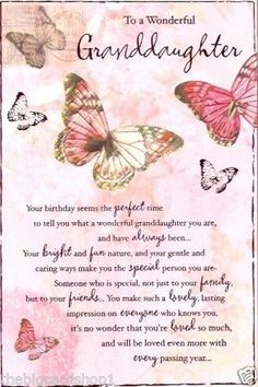 birthday card messages for granddaughter ; 6e2eae33ef28dcb2d127f5bc9c34a20f--birthday-wishes-cards-birthday-sentiments