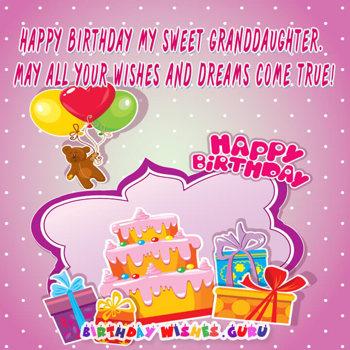 birthday card messages for granddaughter ; Happy-Birthday-my-sweet-Granddaughter