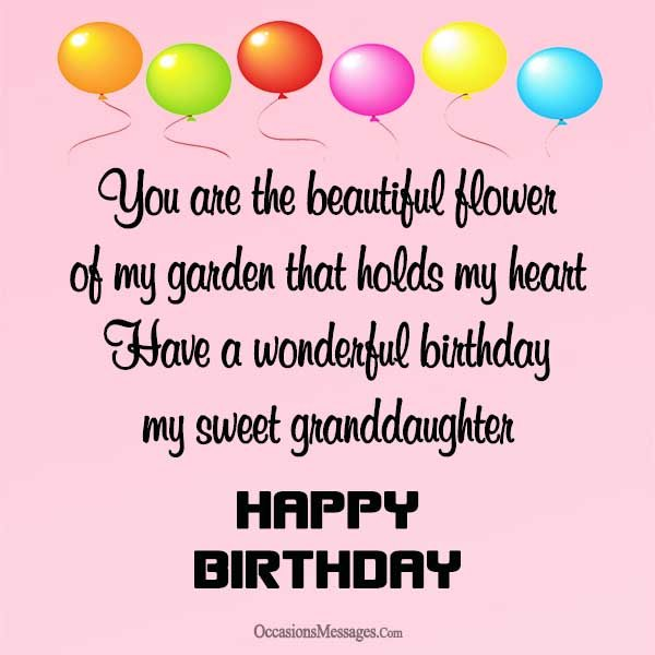 birthday card messages for granddaughter ; Happy-birthday-granddaughter