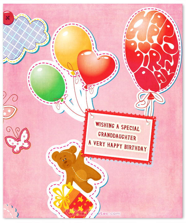 birthday card messages for granddaughter ; sweet-birthday-wishes-for-granddaughter-granddaughter-birthday-card-sayings