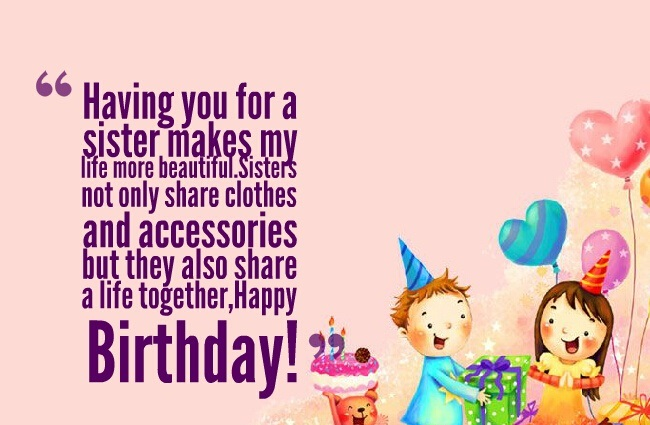 birthday card messages for sister funny ; 879