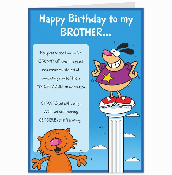 birthday card messages for sister funny ; funny-birthday-wishes-for-brother-in-urdu