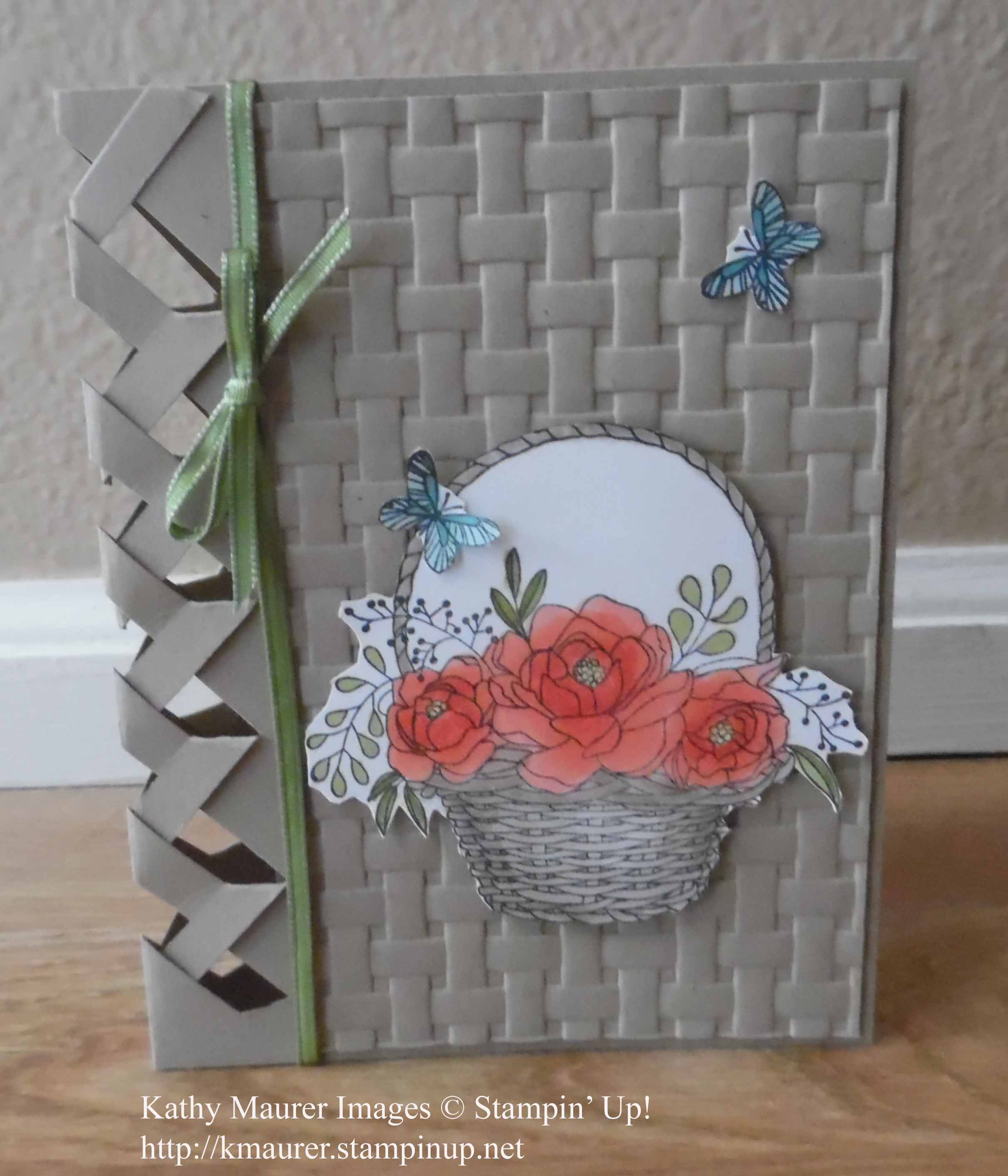 birthday card reminder folder ; Blossoming%2520Basket