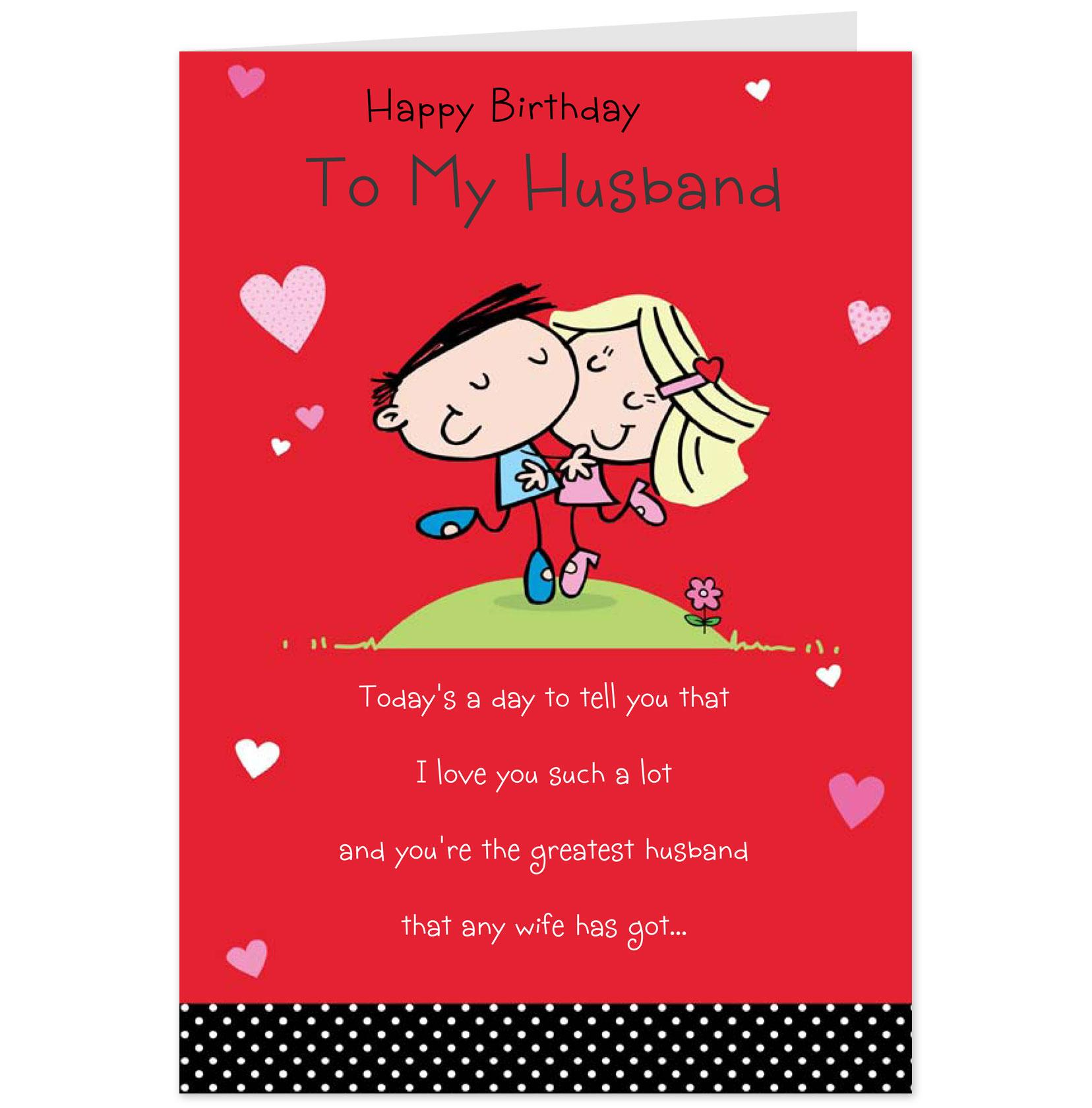 birthday card to husband from wife ; Funny-Birthday-Card-for-Wife-and-Housband-Online
