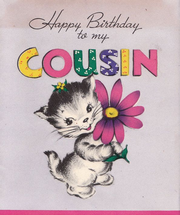 birthday card to my cousin ; f9e218000b1974b2692ee736baf0ad2b