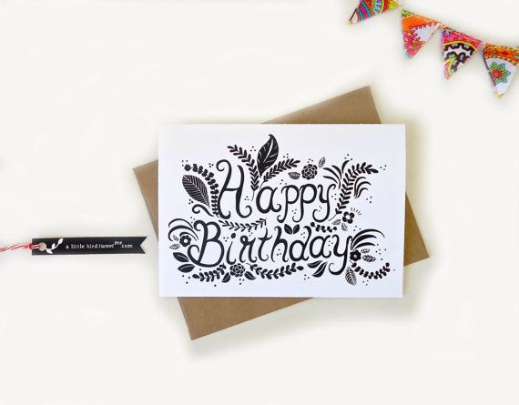 birthday card typography ; 22fb344503da198365defb1c0cfcaa35--bday-cards-happy-birthday-cards