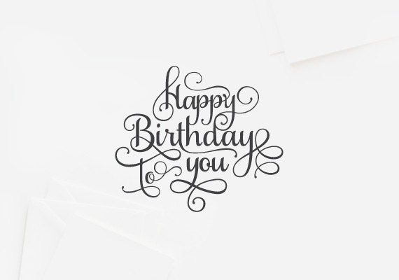 birthday card typography ; 7114d21cf1aae753d3f792e095c85ccb