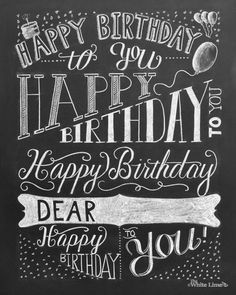 birthday card typography ; c2f5d491bd697cfbf32902fb4bd24b0e