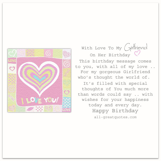 birthday card words for girlfriend ; With-Love-To-My-Girlfriend-On-Her-Birthday-Free-birthday-cards-for-facebook