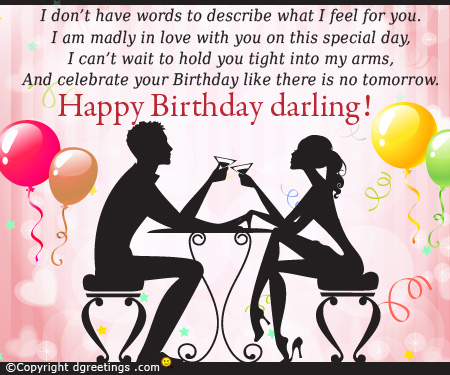 birthday card words for girlfriend ; happy-birthday-darling