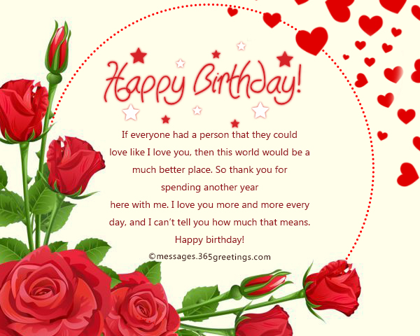 birthday card words for girlfriend ; romantic-birthday-wishes-for-girlfriend-1