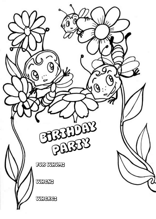 birthday cards coloring pages free ; Happy-Birthday-Card-Coloring-Pages