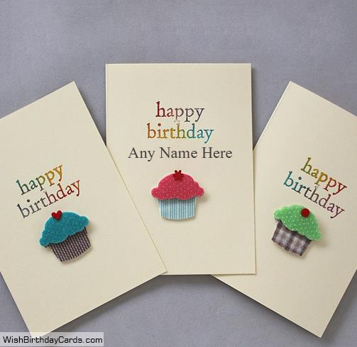 birthday cards for brother with name and photo ; sweet-cupcake-birthday-card-for-brother-with-namebd0a