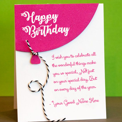 Birthday Cards For Brother With Name And Photo Wish Card
